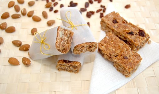 chocolate raisin granola bars